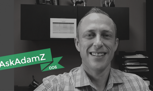 #AskAdamZ – Episode 006 – 3 Ways to Eliminate Financial Regret