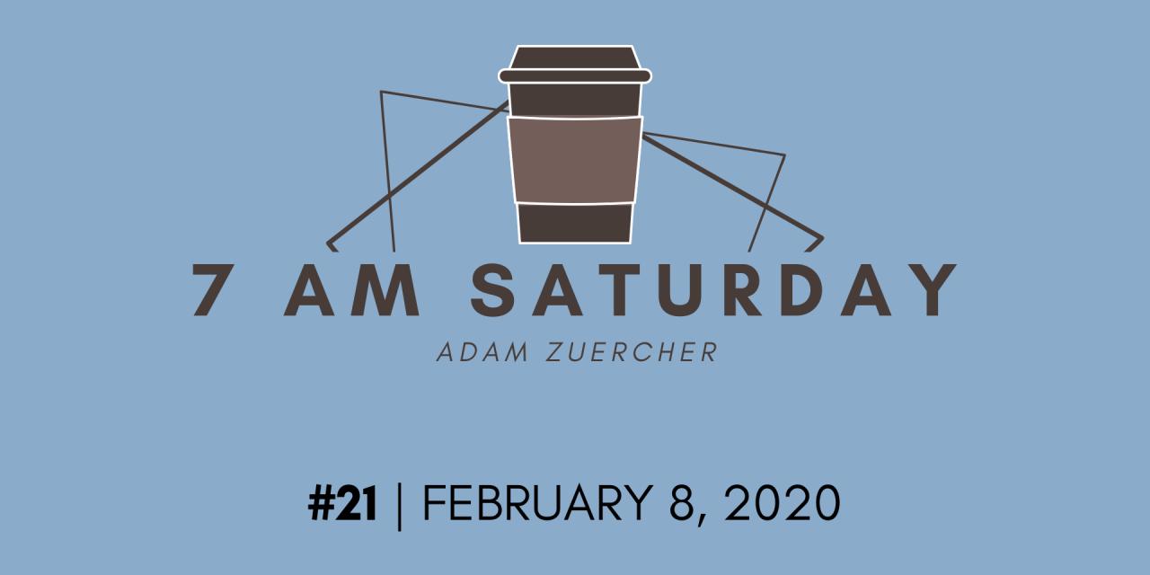 7am Saturday #21 – New market highs & new jobs!