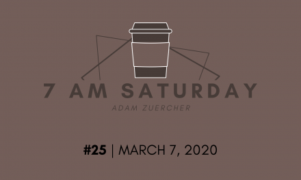 7am Saturday #25 – Making Sense of the Corona Panic